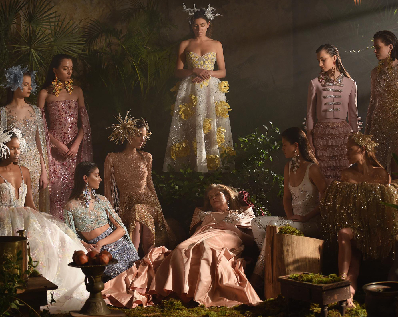 Georges Hobeika Spring Summer 2021 Haute Couture collection