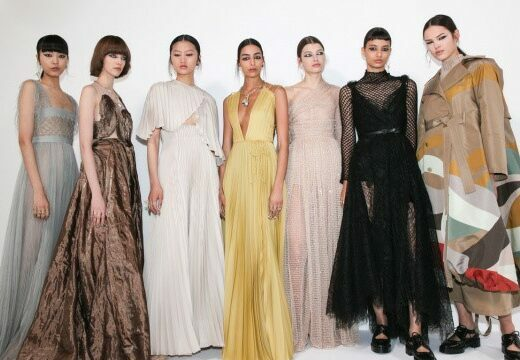 Looks from Christian Dior's Autumn-Winter 2021-2022 Haute Couture collection